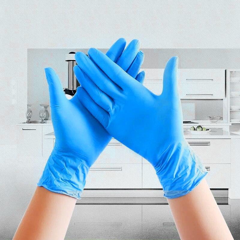 100 шт./компл., бытовые латексные безопасные перчатки, одноразовые перчатки для ресторана, кухни, экологически чистые перчатки, Универсальные перчатки для очистки|Бытовые перчатки|   | АлиЭкспресс