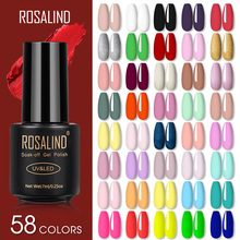 ROSALIND Gel Nail Polish Lamp All For Nails Art Manicure With Matt Base Top Coat Semi