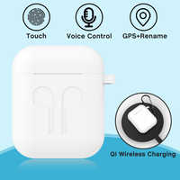 i9000 TWS Wireless Earphone 1:1 Air 2 Pop Up Bluetooth 5.0 In-Ear Detection Earbuds Wireless Charging Change Rename GPS Location