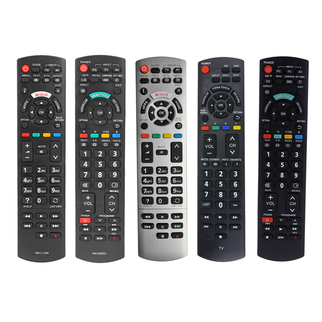 Akıllı LED TV uzaktan kumanda RM L1268 Panasonic Netflix N2Qayb00100 N2QAYB akıllı TV dijital TV hiçbir programlama gerekir