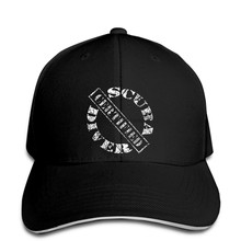 Scuba diver certified distressed print diver black new Baseball cap snapback hat Peaked(China)