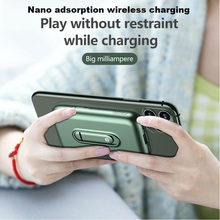 Mobile-Power-Bank External-Battery iPhone12 Portable Wireless-Charging 4000mah for Nano-Adsorption