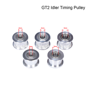 GT2 Idler шкив ГРМ 20 зубчатое колесо Idler алюминиевое колесо зубчатые зубцы 3D принтеры Запчасти для GT2 Ширина ремня ГРМ 6 мм