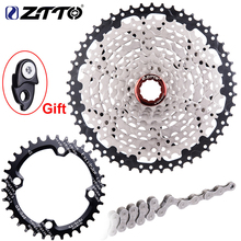 ZTTO 9 Speed Mountain Bike Cassette 11 50T Wide Ratio MTB 9speed Bicycle Sprocket 9S Freewheel Compatible with M430 M4000 M590