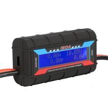 100A 150A ЖК-экран цифровой ваттметр Высокоточный измеритель мощности RC ватт измеритель баланса напряжения Балансирующий аккумулятор зарядно...