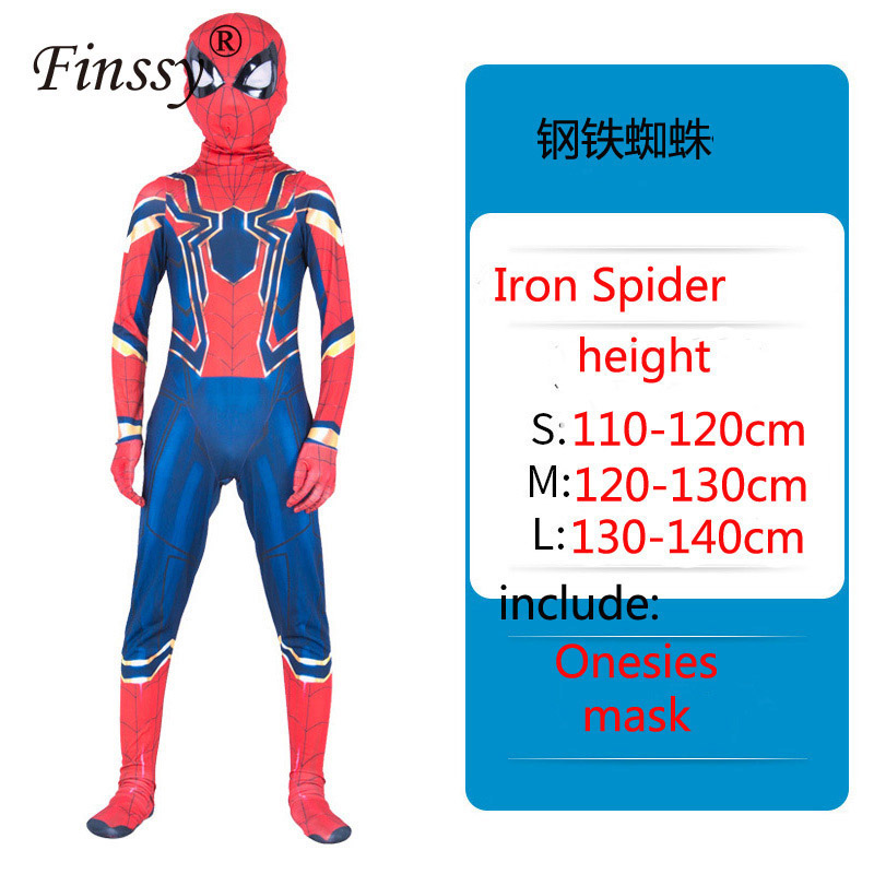 Spider Superhero Man Muscle Cosplay Costume Halloween Carnival Masquerade Birthday Party Costume Gift For Kid