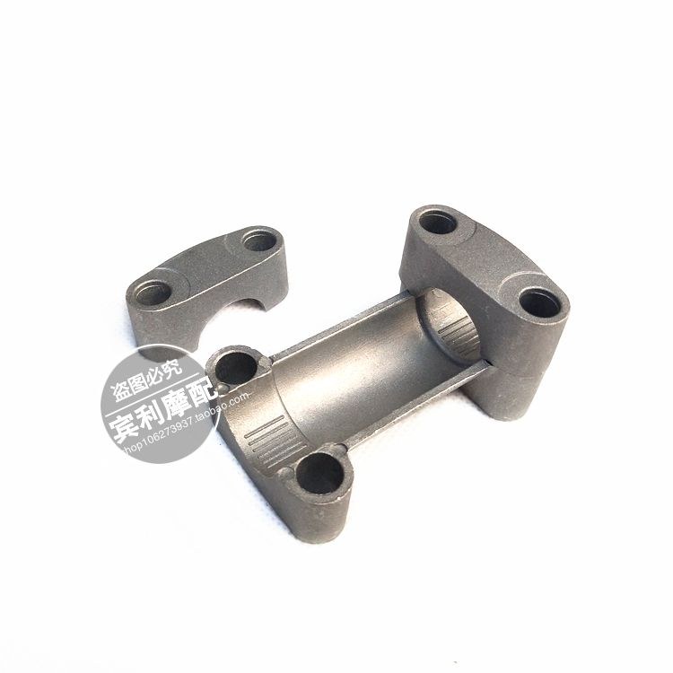 Set 22mm CNC Alloy Adapter Clamp Handlebar Mount Riser Clamp Motorcycle Universal