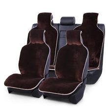 Hair-Covers Car-Seat Cocer for Faux-Fur in Short Full-Set All-Cars