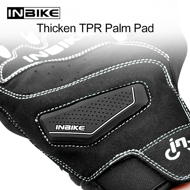 INBIKE All Season Motorcycle Gloves Shockproof Motorbike Gloves Touch Screen Breathable Cycling Men Motocross Guantes Moto