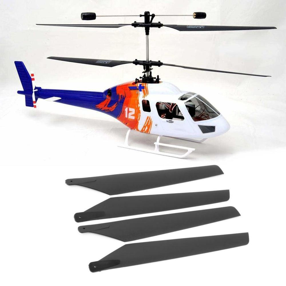 NEW Upgrade 160mm Plastic Main Blades For Esky LAMA V3 V4/ Walkera 5#4 5-8 RC Helicopters Apache AH6 Vehicles & Remote Control T