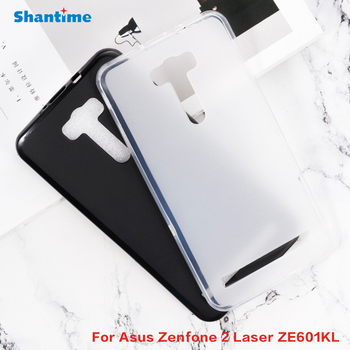 For Asus Zenfone 2 Laser ZE601KL Gel Pudding Silicone Phone Protective Back Shell For Asus Zenfone 2 Laser Soft TPU Case image