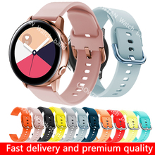 Watch-Strap-Band Galaxy Watch Amazfit Active2 20mm Soft-Silicone Samsung 22mm for 42mm