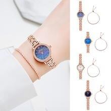 Часы наручные женские кварцевые с ремешком модные минималистичные