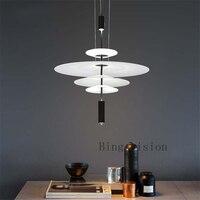 high quality Modern Acrylic LED Umbrella Pendant Light Dining Room Kitchen Light Designer Hanging Lamps Indoor Lighting
