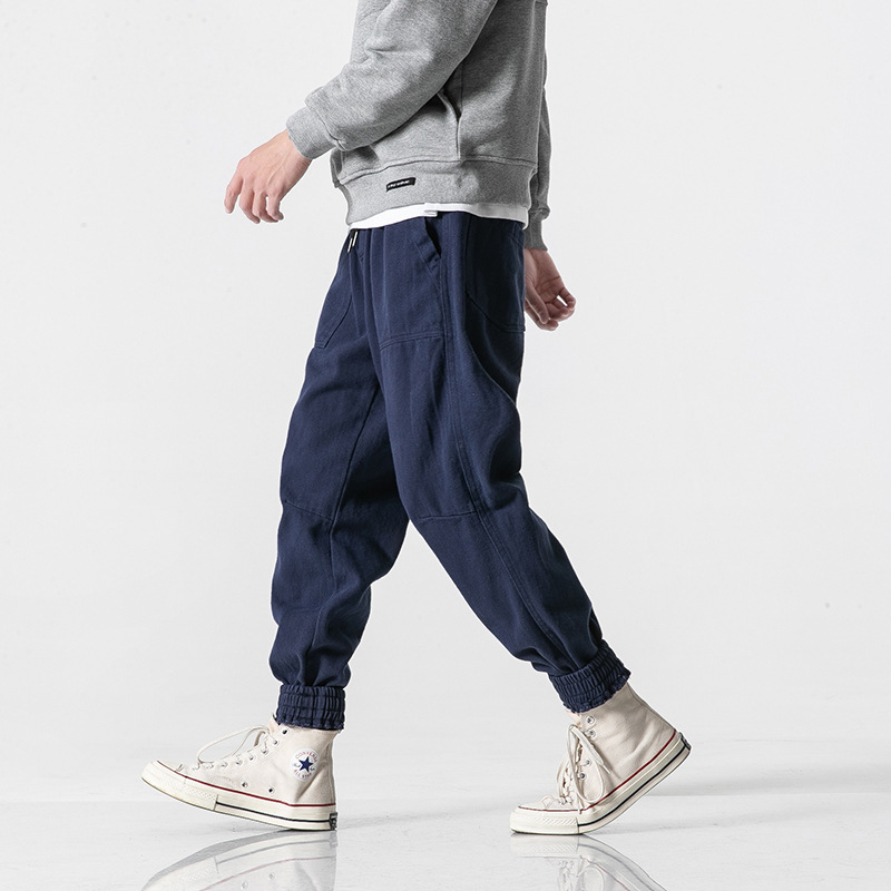 Vertical Ze Produced 19 Years Spring New Style Japanese-style Origional 5-Color Basic Skinny Pants