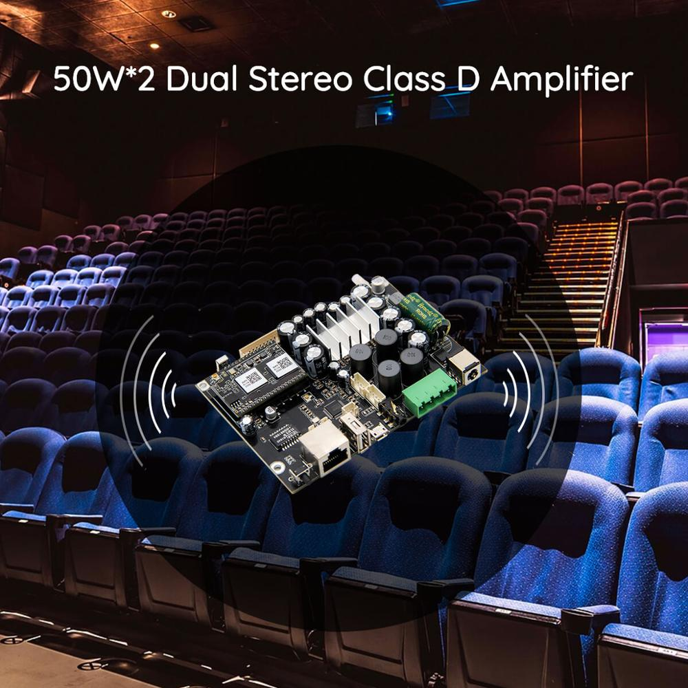 lowest price Up2stream AMP V3 WiFi  amp  Bluetooth 5 0 HiFi Stereo Class D digital multiroom audio amplifier board with Spotify Airplay Equalizer