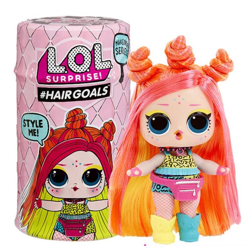 Original LOL SURPIRSE Dolls 5th Generation HAIR GOALS DIY Girl's Toy Christmas Gift