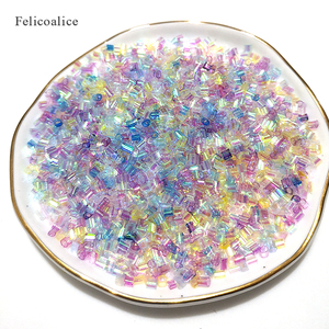 Image 5 - 500g/Bag Slime Additives Supplies Bingsu Beads Accessories DIY Sprinkles Decorfor Fluffy Clear Crunchy Slime Clay