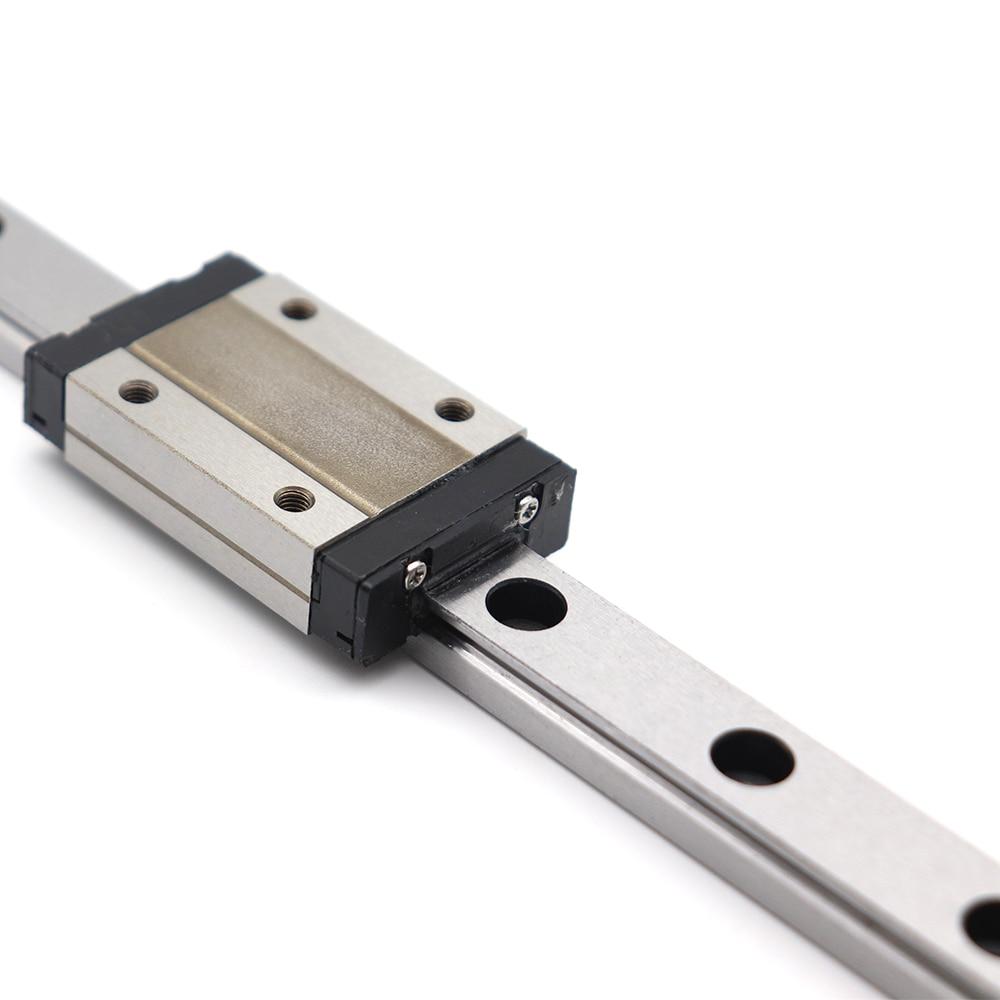 Min MGN9C block and MR9 9mm linear rail guide MGN9 length 600mm 3D printer part