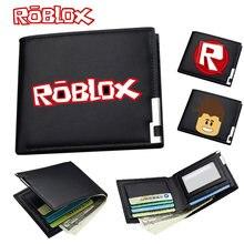 Хит продаж кошелек roblox из искусственной кожи унисекс для