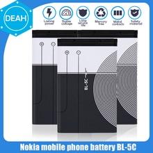 BL5C BL-5C BL 5C 3.7V bateria litowo polimerowa do telefonu Nokia 1100 1110 1200 1208 1280 1600 2600 2700 3100 3110 5130 6230 n70