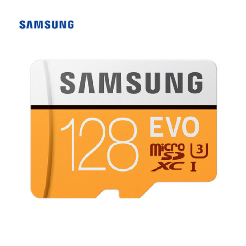 Карта памяти MicroSD SAMSUNG EVO Plus Micro SD карта 32 ГБ, 64 ГБ, 128G 100 МБ/с. слот для карт памяти Micro SD карты Class10 U3 SDXC UHS-1 4K интеллектуальный контроллер с DVD карт...