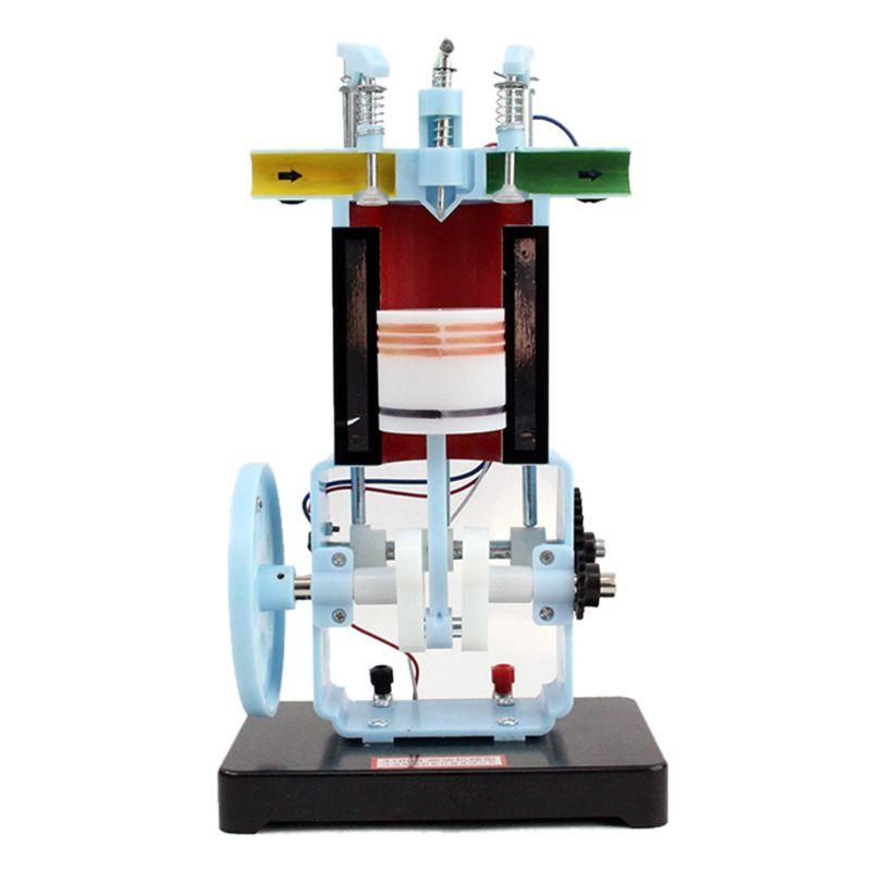 4-Stroke Single-Cylinder Internal Combustion Engine Model Physics Equipment