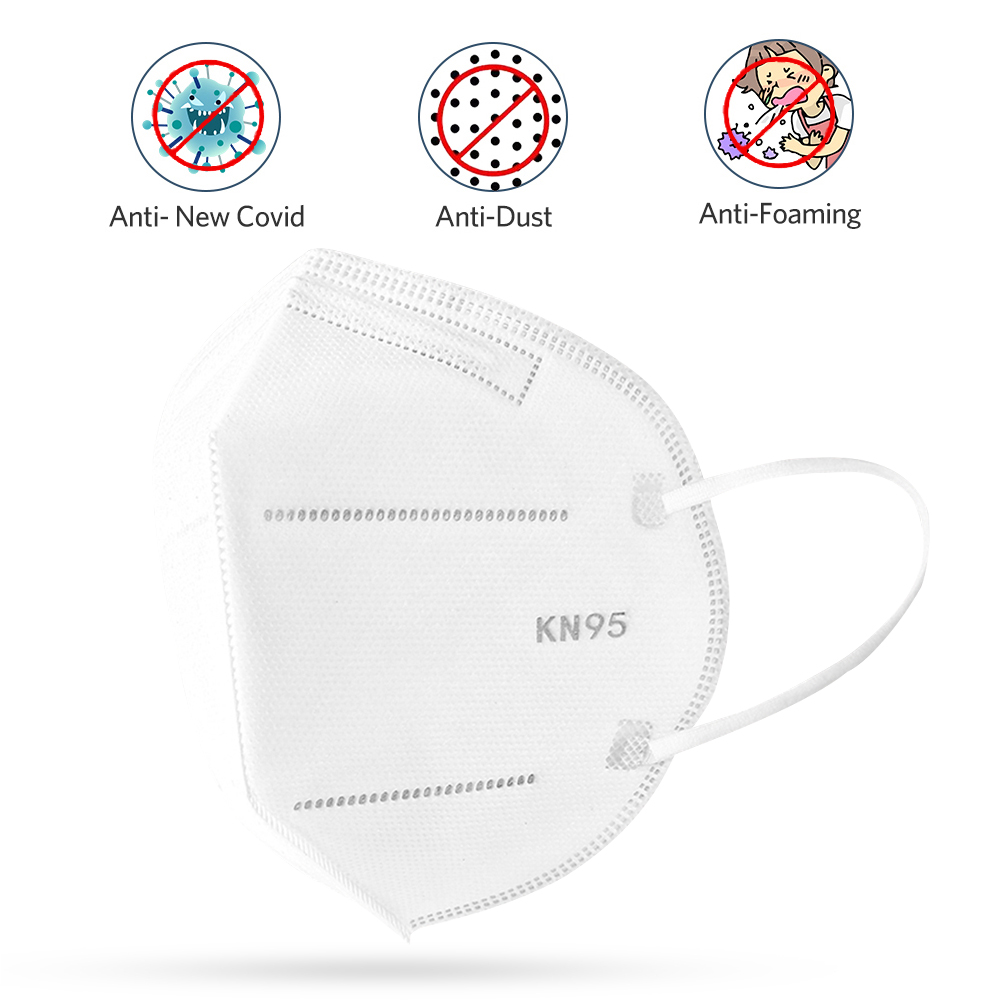 KN95 Protective Mask Face Mask Nose Cover Personal Protection Equipment