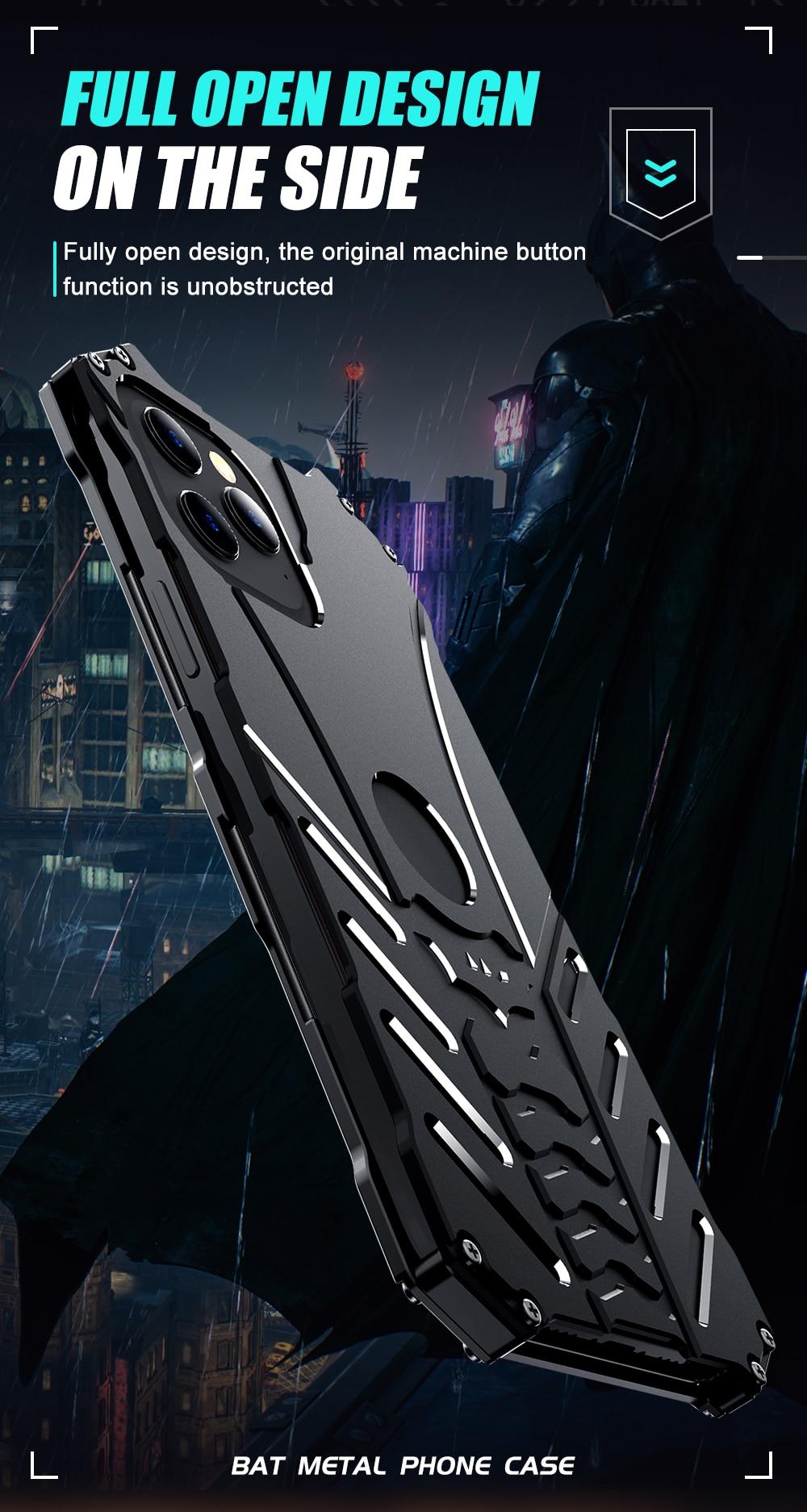 iPhone 12 Batman Aluminum phone case (7)