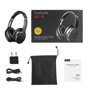 Image 5 - OneOdio Original Active Noise Cancelling Headphones Bluetooth Headphones Wireless ANC Headset With Mic Support AAC For Phone PC