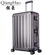 "20""25"" 29"" inch 100%Aluminium alloy Luggage Suitcase Travel Traveling Trolley Rolling Spinner Hardside Carry On Luggage Suitcase"