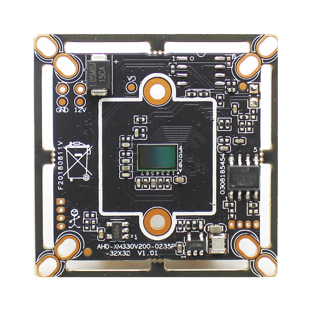 CCTV CAMERA Module 1/2.7 CMOS 1080P SC2235 HD 200 MegaPixel BOARD For XVI-AHD,CVI,TVI,CVBS 4 in 1 Camera DIY CCTV Camera image
