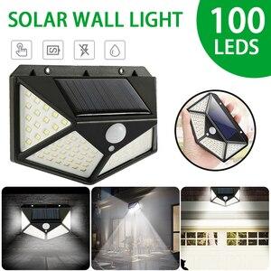 100 LED Solar Light Outdoor Wa