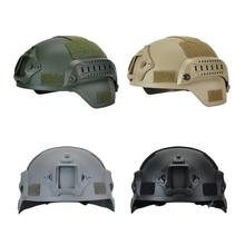 цена на Tactical Lightweight Military Fast Helmet MICH2000 Airsoft Outdoor Paintball CS Swat Riding Shooting Hunting Protect Equipment