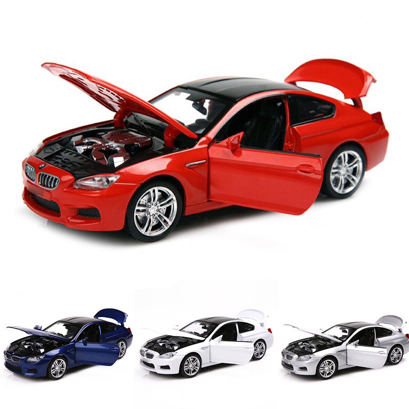 1:32 For M6 Coupe  Alloy Car Model Super Sport Racing Offroad  Diecast Car Model Collection Gift Toys For Children V057