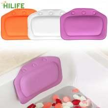 Шея подушка для ванны ванной аксессуары мягкий подголовник дома