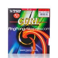 Tsp curl P 1R/P 1 r tênis de mesa borracha pips long (usado por joo se hyuk  seo hyowon) tsp ping pong esponja p1r|sponge sponge|sponge curl|sponge table tennis -