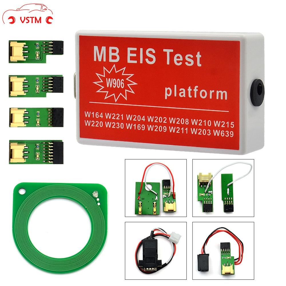 For NEW MB EIS W211 W164 W212 MB EIS Test Platform MB Auto Key Programmer with W906 function| |   - AliExpress