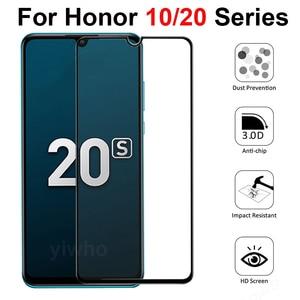 Image 2 - Honer 20lite honor10 honor20s proteção de vidro honra 10 vidro temperado para huawei honra 20s 10i protetor de tela filme segurança