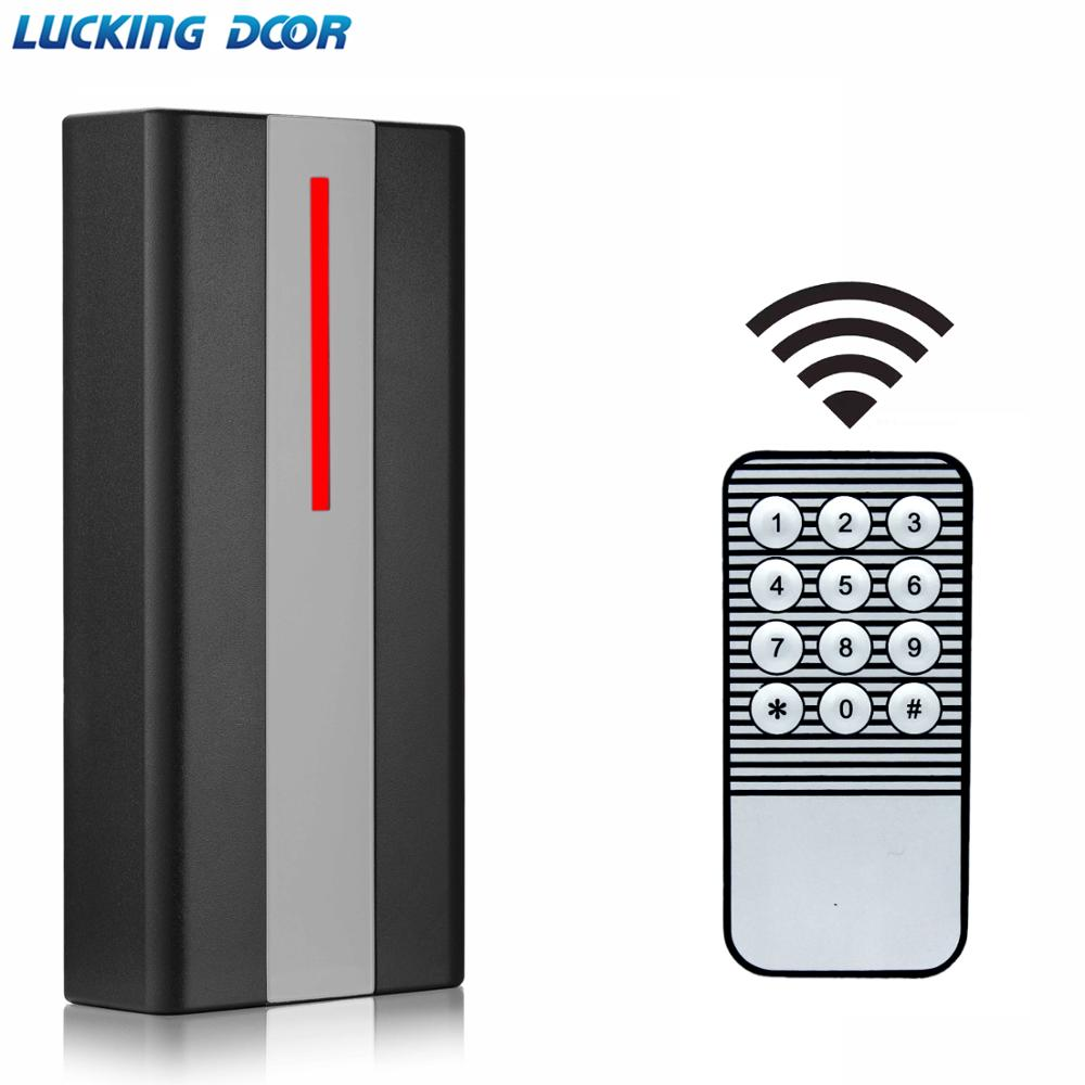 125khz RFID Access Control Reader 2000 User Proximity RFID Card Reader Access Control System Waterproof IP67 Reader