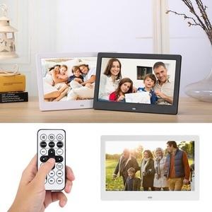10 дюймовый экран, светодиодный HD подсветка 1024*600 цифровая фоторамка, электронный альбом для фотографий, музыка, фильмы, полная функция|Цифровые фоторамки|   | АлиЭкспресс