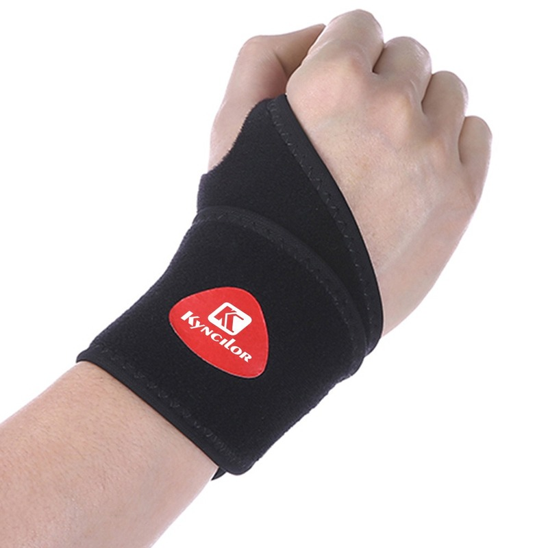 1 PCS Adjustable Compression Wristband Cross-border High Elastic Wrist Support for Gym Weightlifting Badminton Sport Wrist Brace