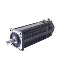 Bldc محرك تروس كهربائي عالي الطاقة 48 فولت 3 كيلو وات ، 20 نيوتن متر للروبوت المتنقل ، مركبة مسار مطاطية