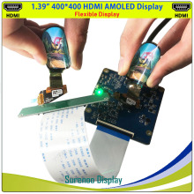 Screen-Panel Lcd-Module MIPI OLED Real-Amoled-Display Flexible Round Soft 400--400-Hdmi