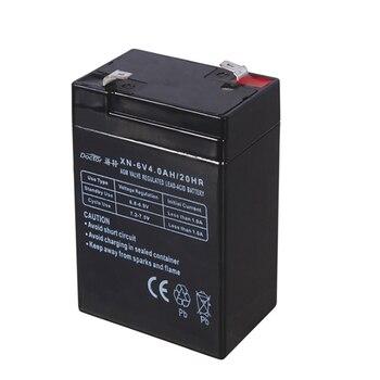 6V 4AH Battery 6V4AH Lead Acid Rechargeable Batteries Accumulator for Children's Car Desk Lamp LED Lights Electronic Scales