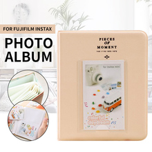 64 Pockets 3 inch Mini Instant Polaroid  Memory Storage Photo Album Picture Gift Holder for Fujifilm Instax Case