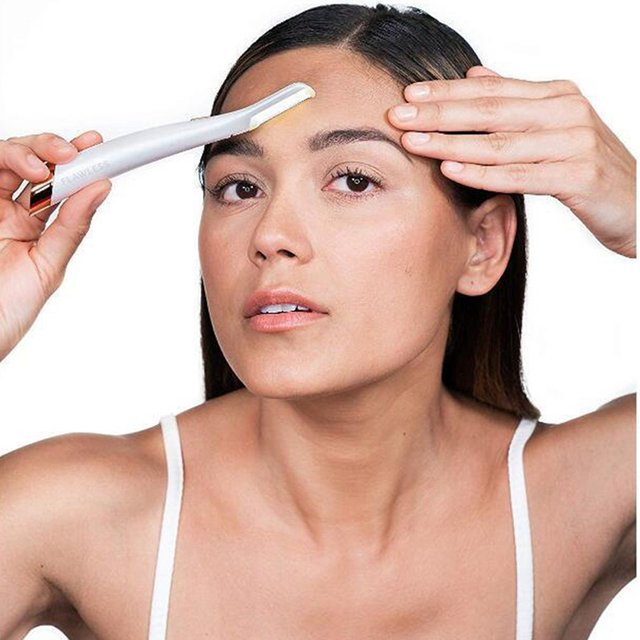 Multifunction Electric Shaver Woman Razor Facial LED Hair Removal Leg Underarms Epilator Nose Eyebrow Trimmer 3