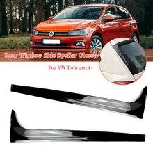 Wings Car Splitter Spoilers Polo Mk6 Golf7 Window-Side Canards Rear for VW 2PCS MK7 Glossy