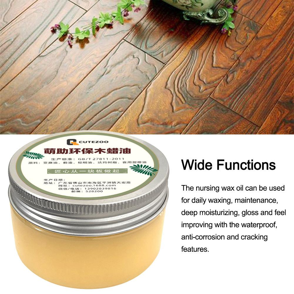 100g Wood Furniture Maintenance Wax Oil