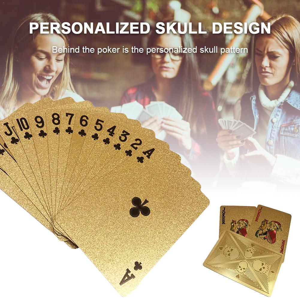 gold-playing-cards-font-b-poker-b-font-game-deck-plastic-waterproof-gold-foil-font-b-poker-b-font-set-magic-card-table-game-family-entertainment